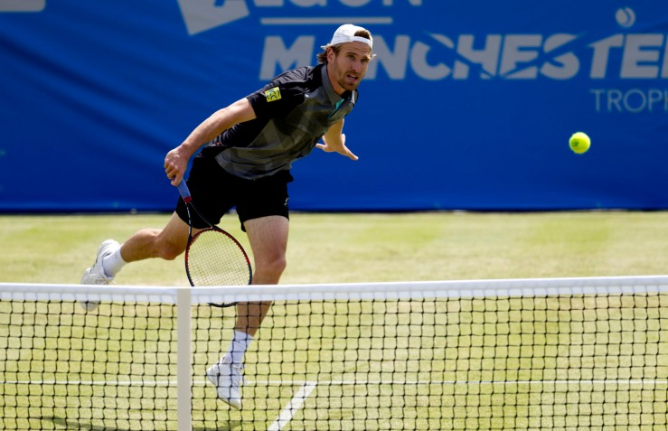 Tennis - AEGON  Manchester Trophy - First Round - Peter Gojowczyk v Dan Evans